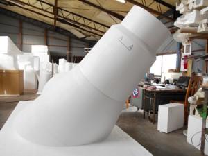 発泡スチロール加工 清掃工場仕様 コンクリート型枠
