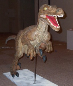 恐竜。 全身。