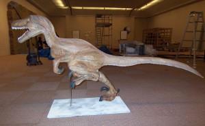 恐竜。 真横。