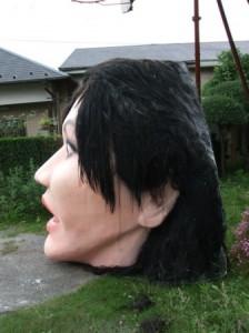 これが本当の絶壁後頭部。
